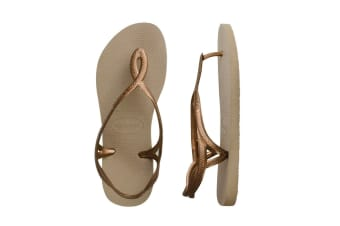 Havaianas Luna Thongs (Rose Gold)