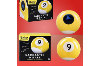 Ridley`s Sarcastic 9-Ball: Like A Mystic 8-Ball, but Meaner
