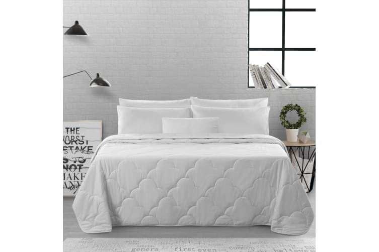 Natural Home Summer Cotton Quilt 250gsm King Bed