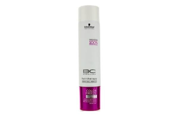 Schwarzkopf BC Color Freeze Silver Shampoo (For Grey & Lightened Hair) (250ml/8.4oz)