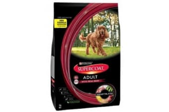 Purina Supercoat Adult Beef Smartblend