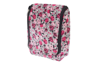 Womens/Ladies Patterned Travel Toiletries Bag (Floral Print) (One Size)