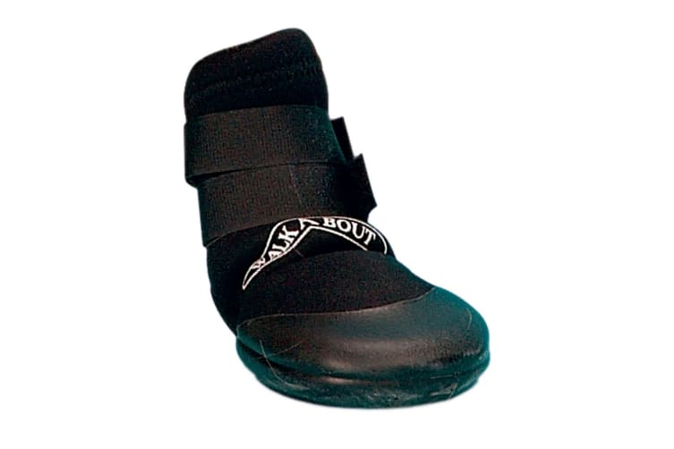 Kruuse Buster Walka Protective Dog Paw Boot (Black) (Small)