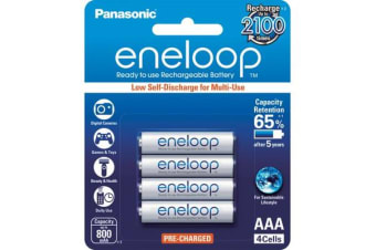 Panasonic 4 Pack Aaa Eneloop Batteries