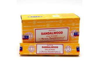 3x15g Fresh Nag SATYA Incense Sticks Champa Home Scents Hem Fragrance Bulk Pack- Sandalwood