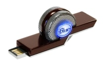 Blue Tiki Compact USB Microphone - Silver (90021620)