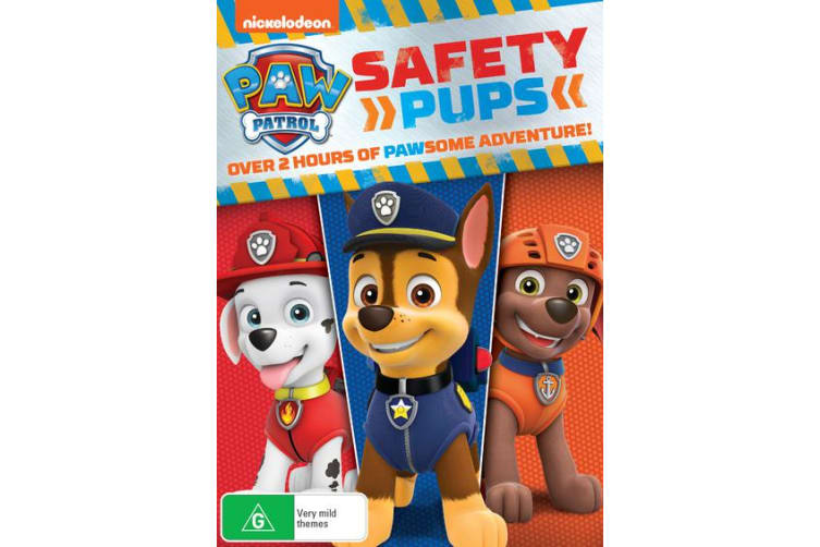 Paw Patrol Safety Pups DVD Region 4