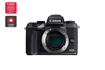Canon EOS M5 Mirrorless Camera with Mount Adapter