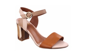 Riva Womens/Ladies Baxin Open Toe High Heel Sandals (Tan) (7 UK)