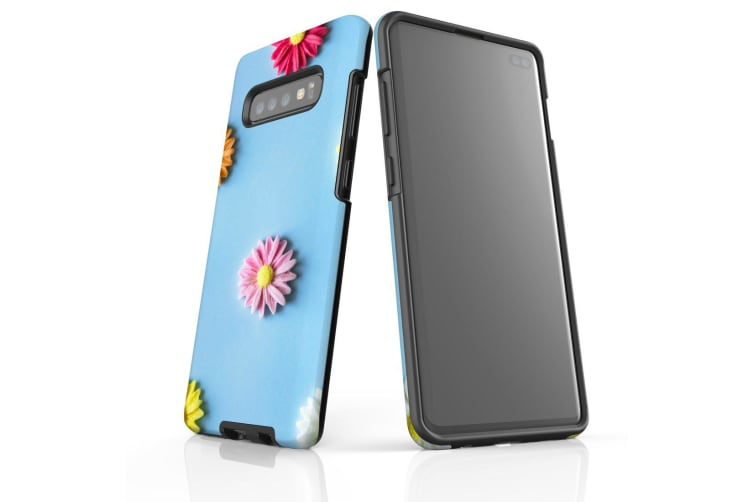 For Samsung Galaxy S10+ Plus Case  Armour Tough Cover  Flowerful