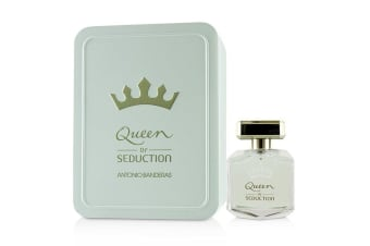 Antonio Banderas Queen Of Seduction Eau De Toilette Spray (Metal Case) 80ml