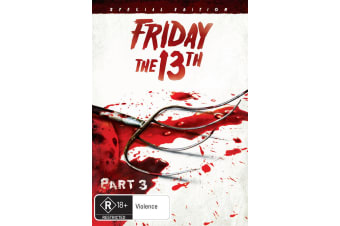 Friday the 13th Part 3 Special Edition DVD Region 4