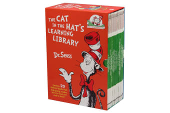 The Cat In The Hat's Learning Library by Dr. Seuss 20 Book Box Set