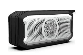 Select Mall Creative Portable Wireless Bluetooth Speaker 5.0 IPX7 Waterproof Subwoofer Card Outdoor Audio-Black