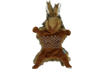 Dog & Co Country Roadkill Plush Hare Dog Toy (Brown) (S)
