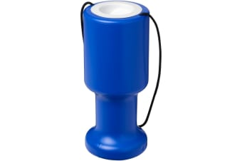 Asra Hand Held Plastic Charity Container (Blue) (One Size)
