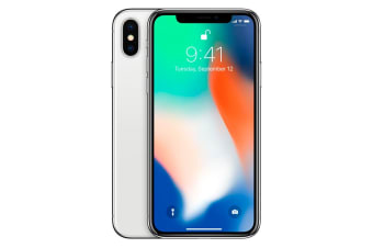 Apple iPhone X (64GB, Silver) - Pre-owned