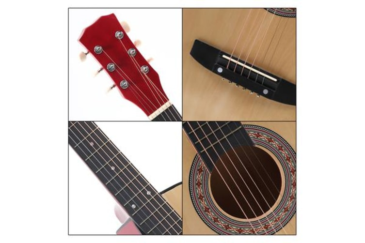 """38""""Acoustic Guitar for Wooden Nature wood"""
