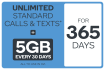 Kogan Mobile Prepaid Voucher Code: MEDIUM (365 Days | 5GB Per 30 Days)
