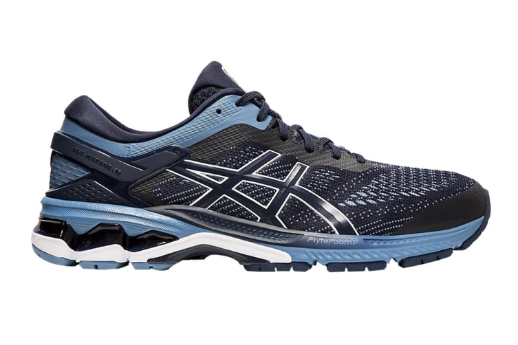 ASICS Men's Gel-Kayano 26 Running Shoe (Midnight/Grey Floss, Size 11 US)