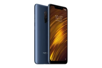 Xiaomi Pocophone F1 (128GB, Steel Blue) - Global Model