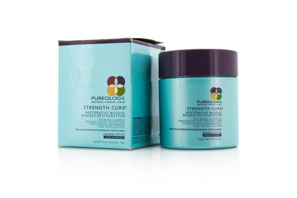 Pureology Strength Cure Restorative Masque (For Micro-Scarred/ Damaged Colour-Treated Hair) (150ml/5.2oz)