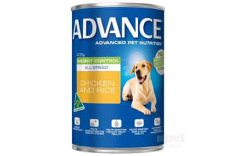 Advance Adult Weight Control Chicken Rice Cans - 12cans