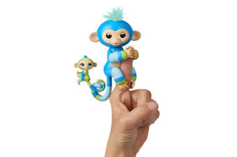 Fingerlings Baby Monkey and Mini BFFS - Billie and Aiden