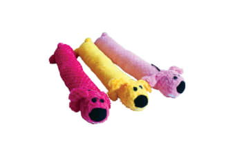 Happy Pet Supersoft Loofa Dog Toy (May Vary)