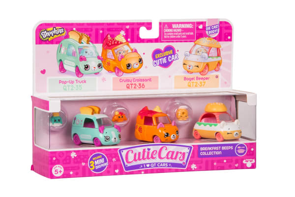 Cutie Cars 3 Pack S2 (Assorted)