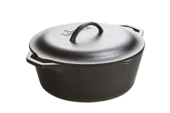 Lodge Cast Iron Dutch Oven with Loop Handles 37cm 6.6L
