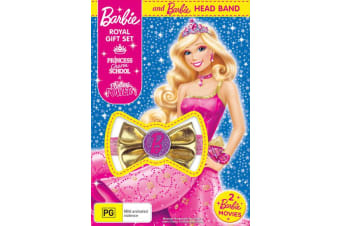 Barbie Royal Princess Charm School / Princess Power DVD Region 4