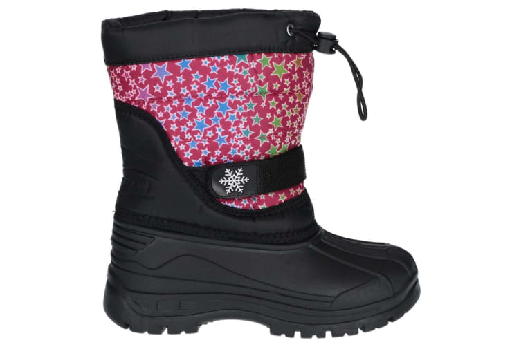 Cotswold Childrens/Kids Icicle Snow Boot (Pink) (1 UK)