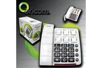 Oricom Big Button Picture Dialing Loud Amplified Ring Corded Phone New Care80