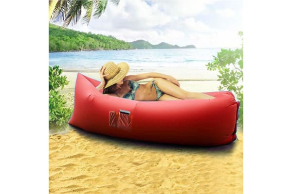 Chill Chair Portable Lounge Red