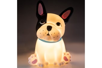 French Bulldog Battery-Operated LED Table Lamp Night Light