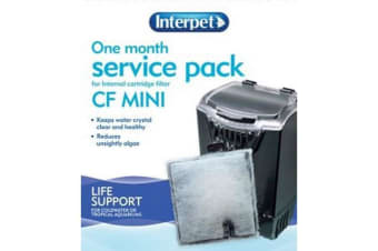 Interpet CF Mini Internal 1 Month Service Kit (May Vary) (One Size)