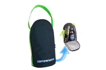 Companion Insulated Bottle Soft Cooler Day Trip Camping Portable Bag Comp9241
