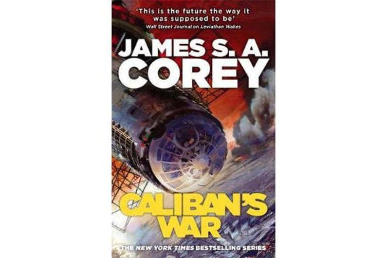 Caliban's War - Book 2 of the Expanse (now a major TV series on Netflix)