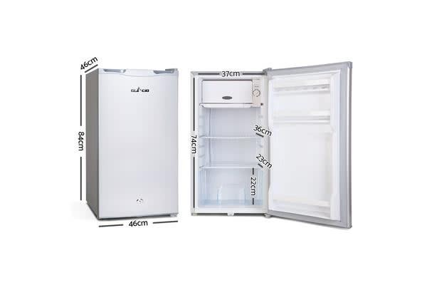 Glacio 2-in-1 Freezer Fridge 95 Litre