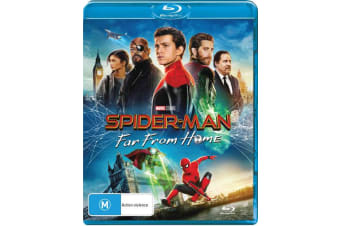 Spider Man Far from Home Blu-ray Region B