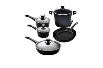 Scanpan Classic 6pc Set w/ 2 Saucepans 2 Frypans Stock Pot & Saute Pan