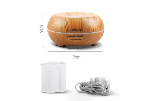 200ml 4-in-1 Aroma Diffuser (Light Wood)