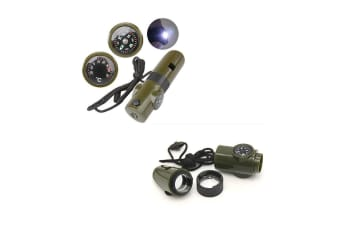 Xhunter 7 In 1 Emergency Whistle
