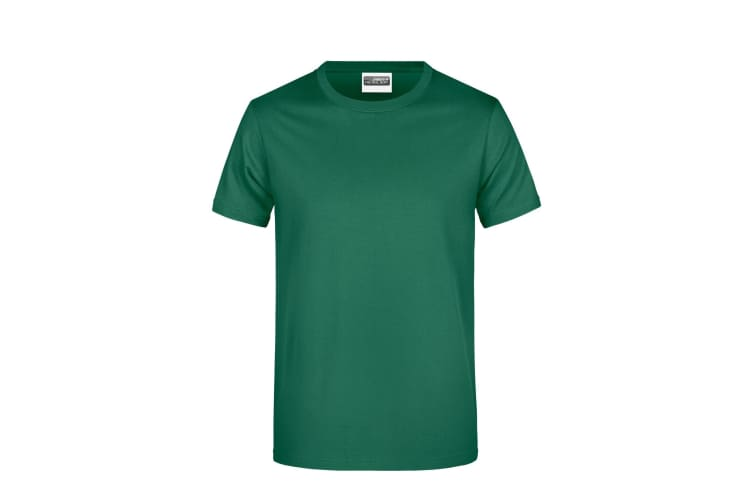 James And Nicholson Mens Basic T-Shirt (Irish Green) (M)