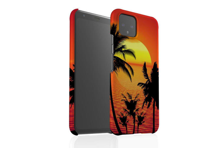 For Google Pixel 4 XL Snap Case Lightweight Protective Unique Cover Tropical