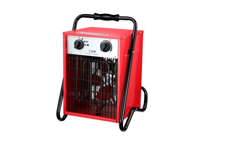3000W Electric Industrial Fan Heater Garage Fast Heating Air Blower Portable Space Heater