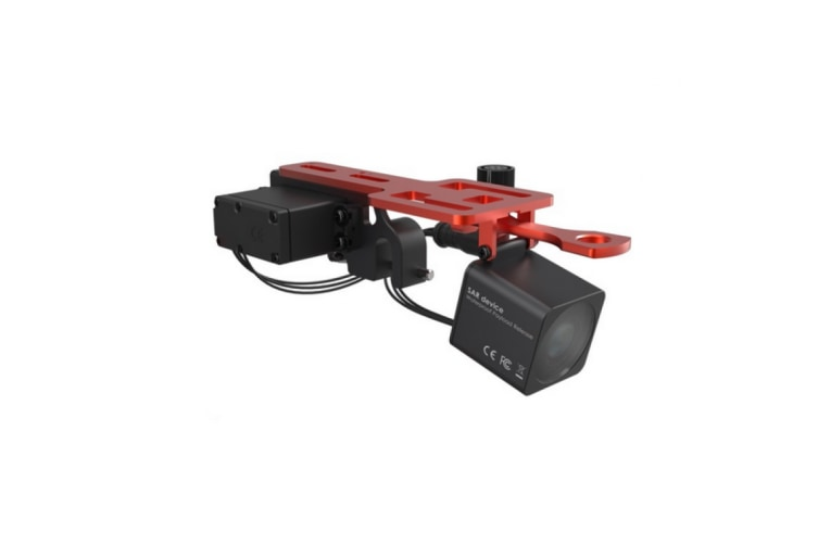 Splash Drone SaR Device PL2 Payload Release Mechanism with FPV Camera