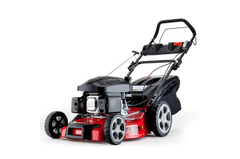 NEW Baumr-AG 18' Lawn Mower Self Propelled 165cc 4 Stroke Lawnmower Petrol Grass