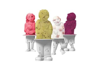 Tovolo Zombies Pop Mould Set of 4